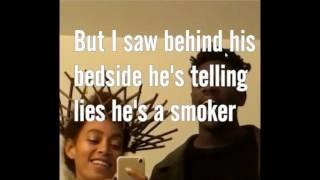 Solange and Moses Weed Smoker Lyrics