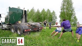 ГРУЗОВИК против КОМАНДЫ АМЕРИКАНСКИХ ФУТБОЛИСТОВ