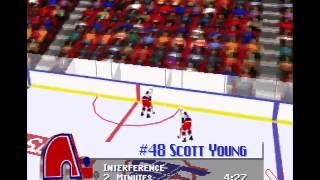 NHL 96 PC Gameplay