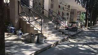 Corato. Cimitero comunale, una passeggiata fra scale pericolanti e pareti fatiscenti