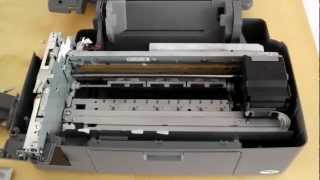 How to dismantle Epson Stylus DX6000 Printer for fixing - Without breaking