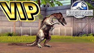 VIP限定恐竜【タニコラグレウス】GET&VIP限定イベント!#ep28 ギガのJWTG jurassic world the game 実況 恐竜