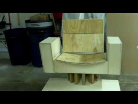 Captain Kirk S Command Chair Build Special Edition Part 3