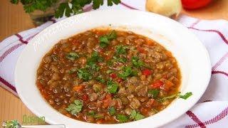 Болгарский суп из чечевицы - леща чорба. Рецепт