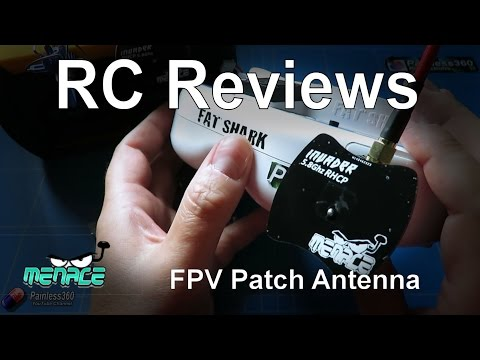 RC Reviews: Nice 6.5db Patch Antenna here in the UK (from MenaceRC)