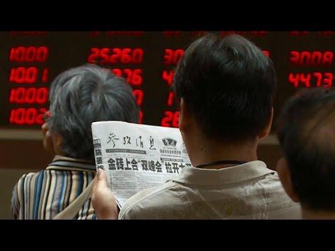 China stocks rebound, but investors hit hard