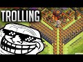 Clash of Clans - BEST NOOB TROLLING BASE (Hilarious FAIL Replays)  - Funnel of Doom 2.0