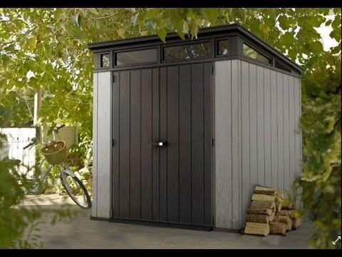 Keter plastic doovi for Jardin 4x6 shed