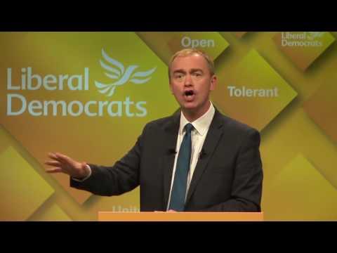 Tim Farron on Farage