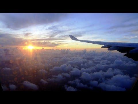 Emirates A340 full landing SEZ Airport 11.08.2014 Mahe/Seychelles (HD)