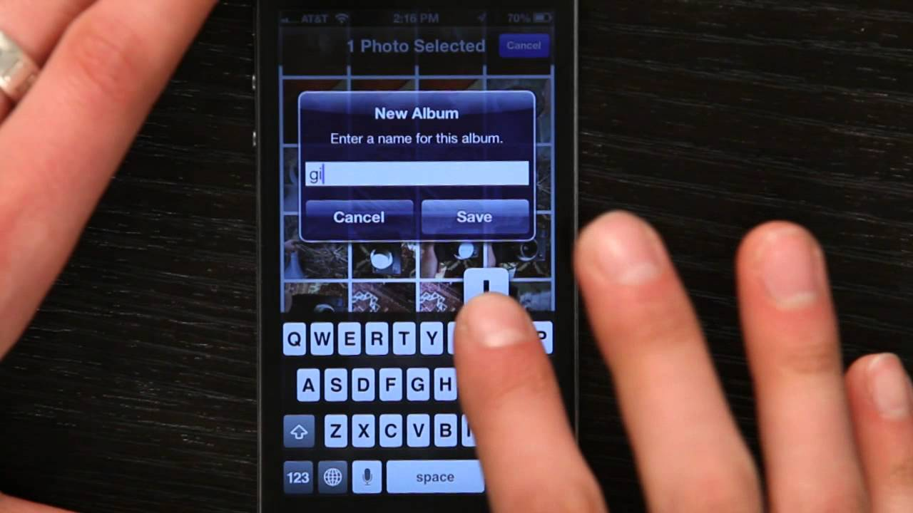 How to save an animated gif to your iphone tech yeah youtube negle Choice Image