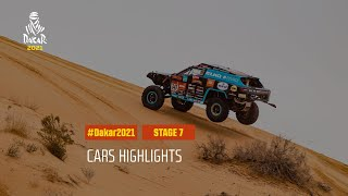 #DAKAR2021 - Stage 7 - Ha'il / Sakaka - Car Highlights