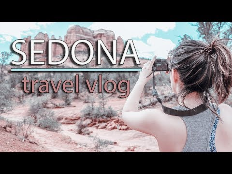 OUR FIRST VACATION IN 4 YEARS! | SEDONA, ARIZONA TRAVEL VLOG 1
