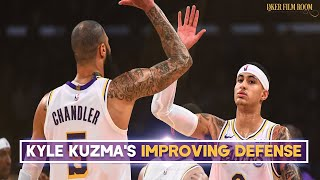How Kyle Kuzma Has Improved on Defense | Lakers Analysis