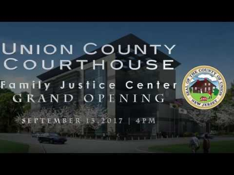 Union County- Family Justice Center Grand Opening - Union County NJ