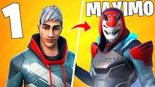 All Skins from Battle Pass 9 and their Upgrades!! Season 9 Fortnite: battle royale