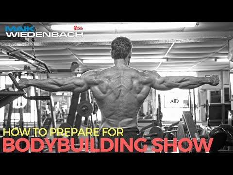 How to Prepare for a Bodybuilding Show!