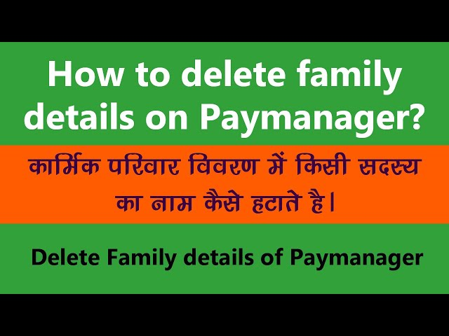 RajEmployee | Paymanager |   Delete | Family Detail | Member | Double Entry