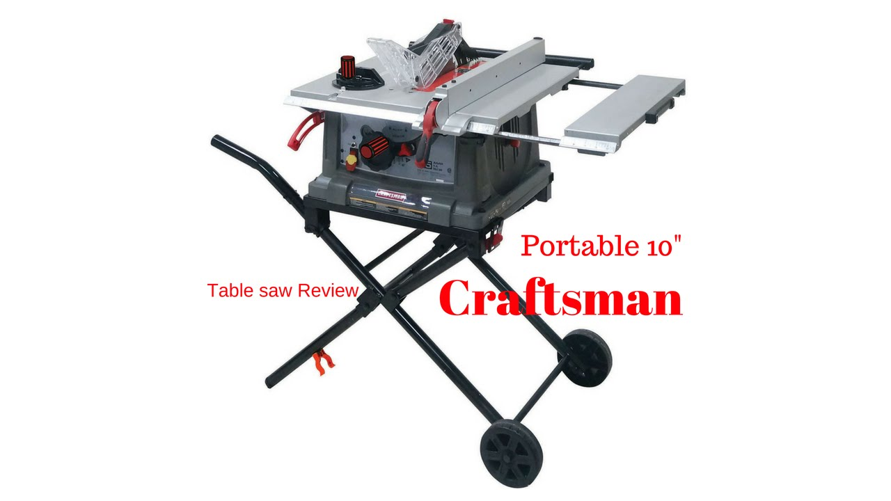 Craftsman portable table saw review the boetker channel youtube craftsman portable table saw review the boetker channel keyboard keysfo