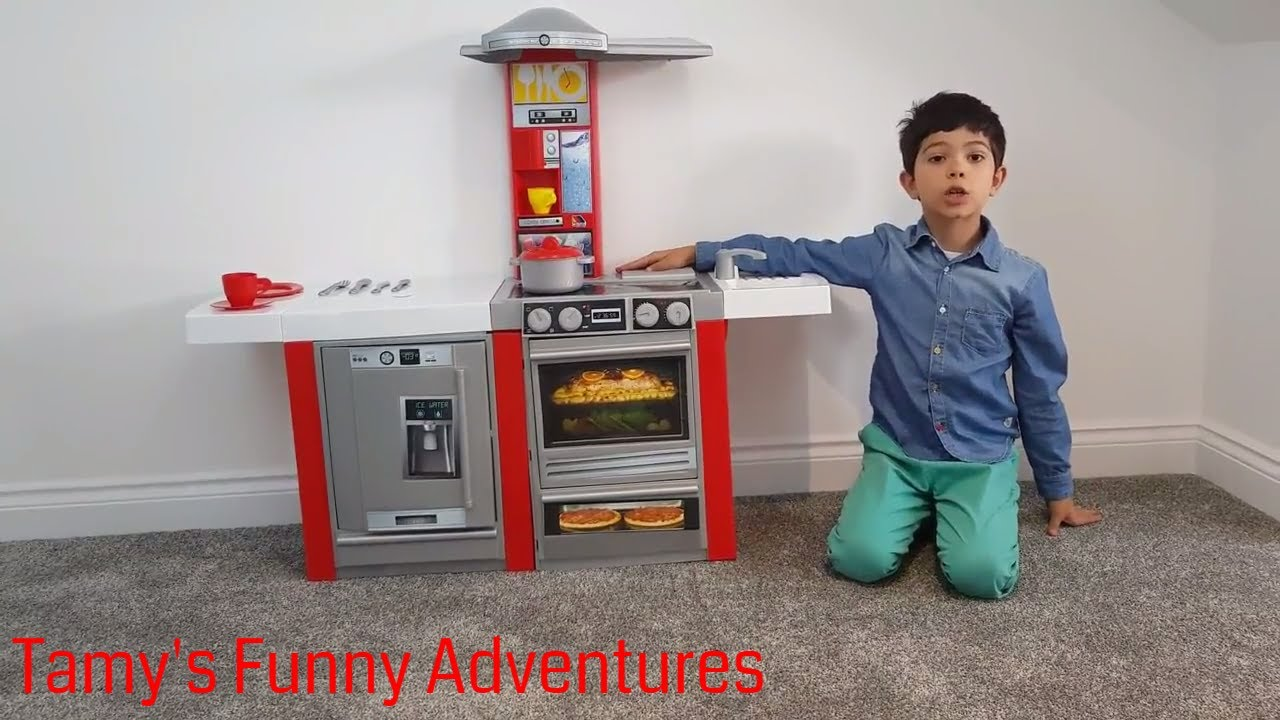 How To Build A Kids Toy Kitchen Master Electronic Indoor Funny