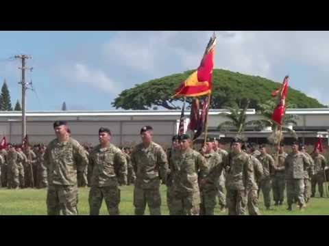 25th Infantry Division Change of Command August 2016
