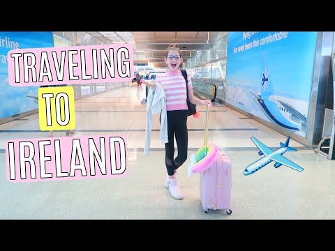 Traveling to Ireland, International Plane Trip | Dublin Vlog Part 1