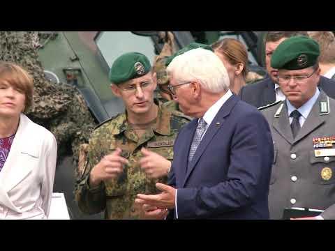 Rukloje lankėsi Vokietijos Prezidentas Frank-Walter Steinmeier