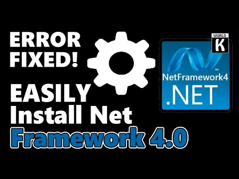 How To Download And Install Net Framework 4.0 Working 100% [Error Fixed]