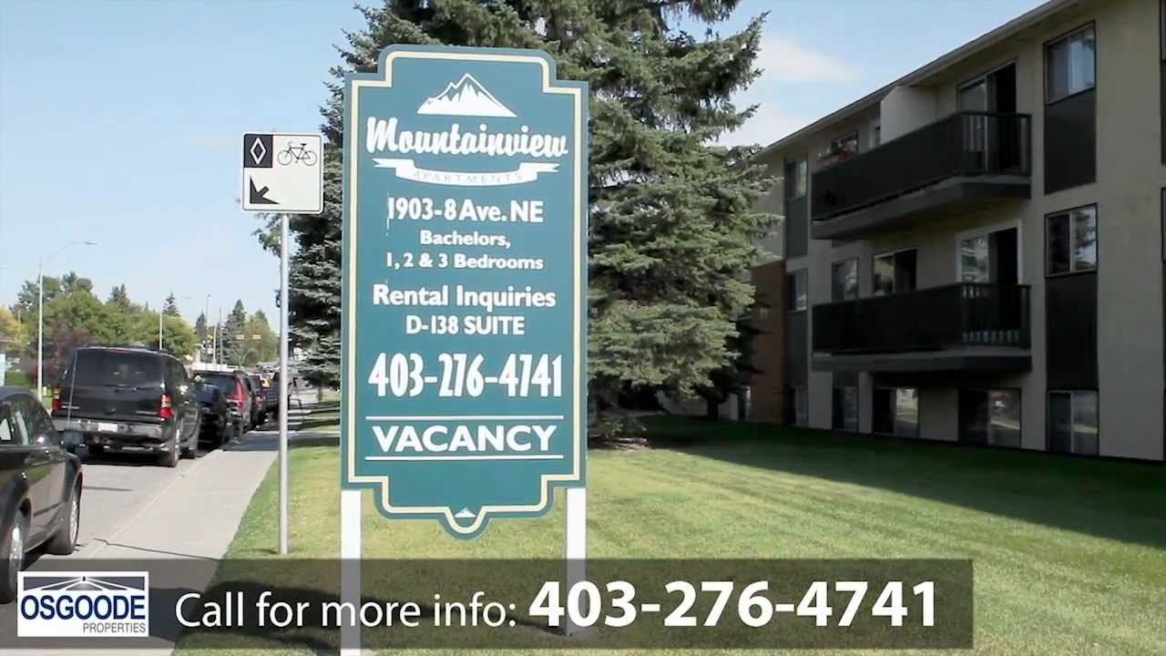 Calgary Apartment 1903 8 Ave. NE T2E 0T3 Mountainview Apartments  403 276 4741 Osgoode Properties