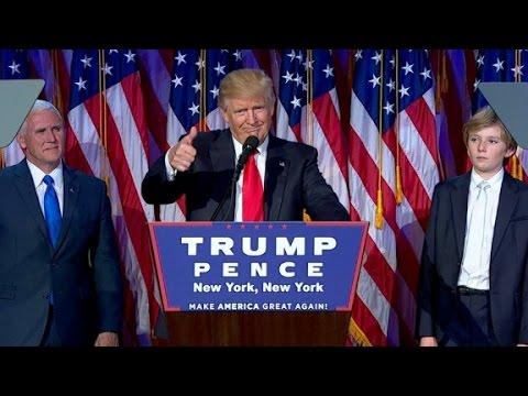 Donald Trump este noul presedinte al SUA