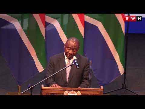 President Cyril Ramaphosa praises Dr Zola Skweyiya