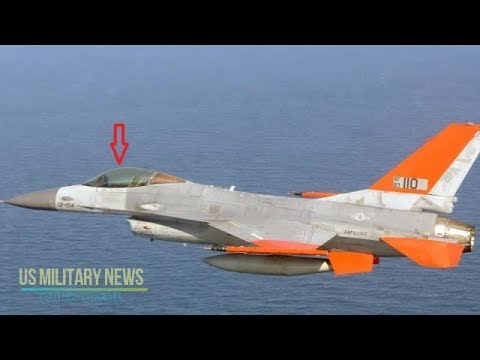 America F-16 Can Be Converted into a Drone and Was Just Shot Down