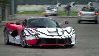 La Ferrari Spyshots at the factory