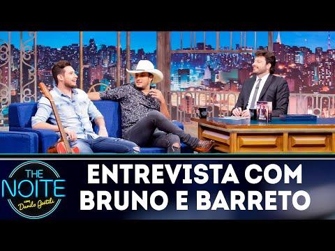Entrevista com Bruno e Barreto The noite 071118
