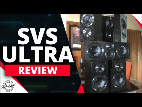Dolby Atmos Home Theater Setup | SVS Ultra 5.1.4 Speaker System Review!