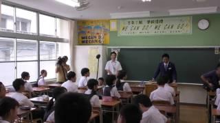 福岡市長高島宗一郎 エアコン整備完了した城西中学校に訪問しました! thumbnail