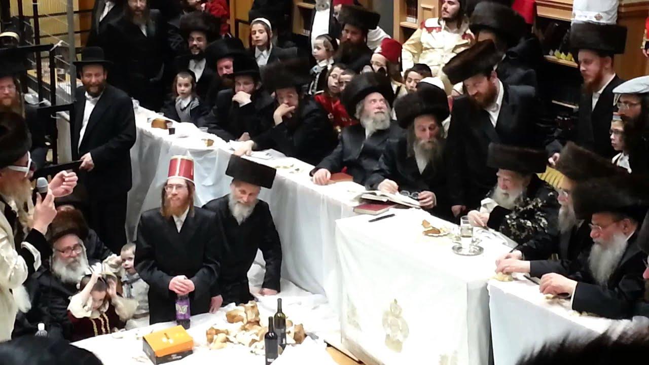 Erlau Purim Tish 5774 - פורים טיש ערלוי תשע''ד 4