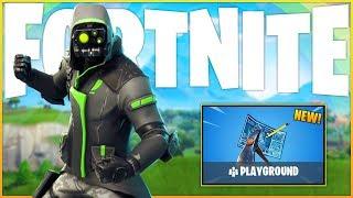 "NEW ""Playground Mode V2"" - Pro Fortnite Player - (Fortnite: Battle Royale Gameplay)"