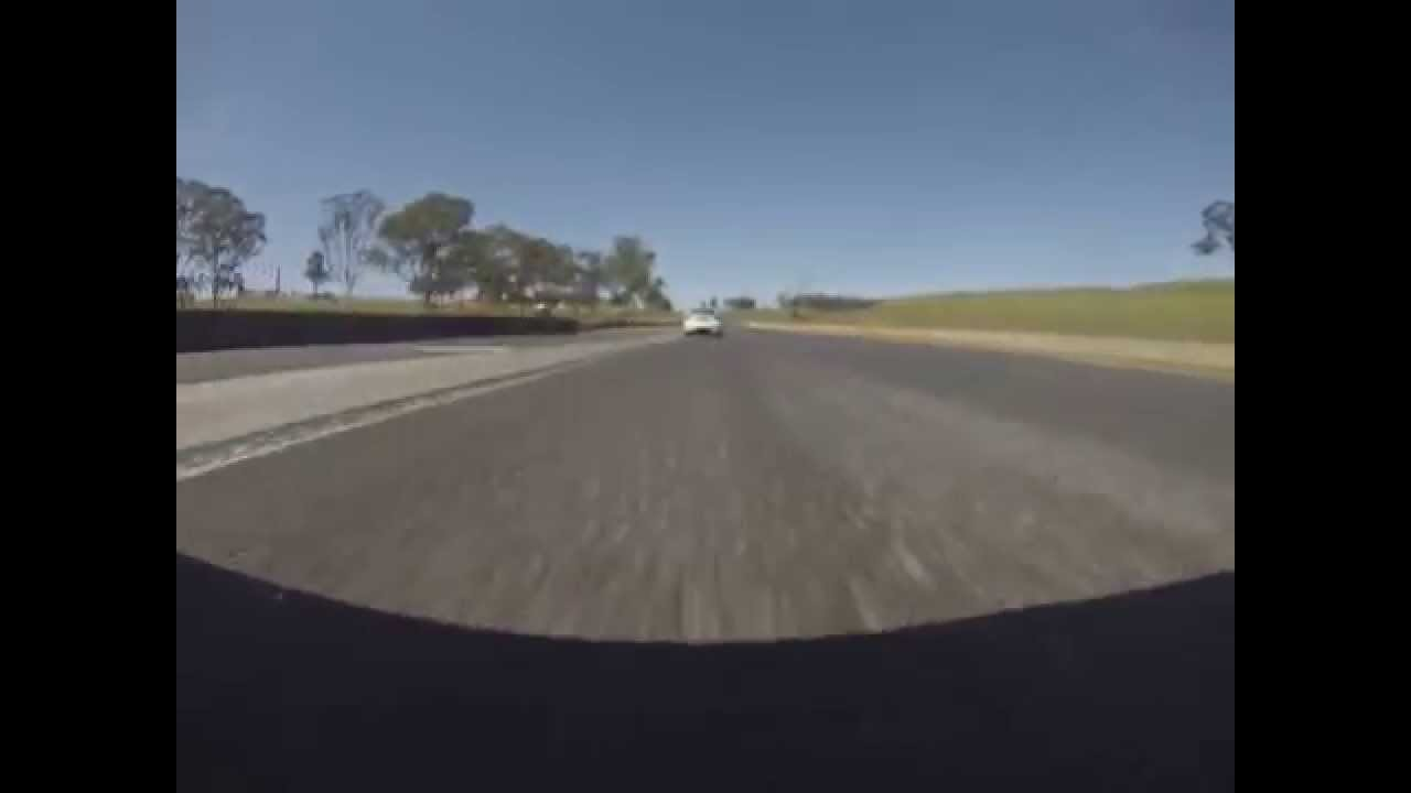 Ford Coupe North circuit Eastern Creek Bumper Camera