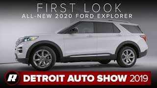 All-new 2020 Ford Explorer is a more efficient, spacious and tech-filled 3-row SUV | Detroit 2019