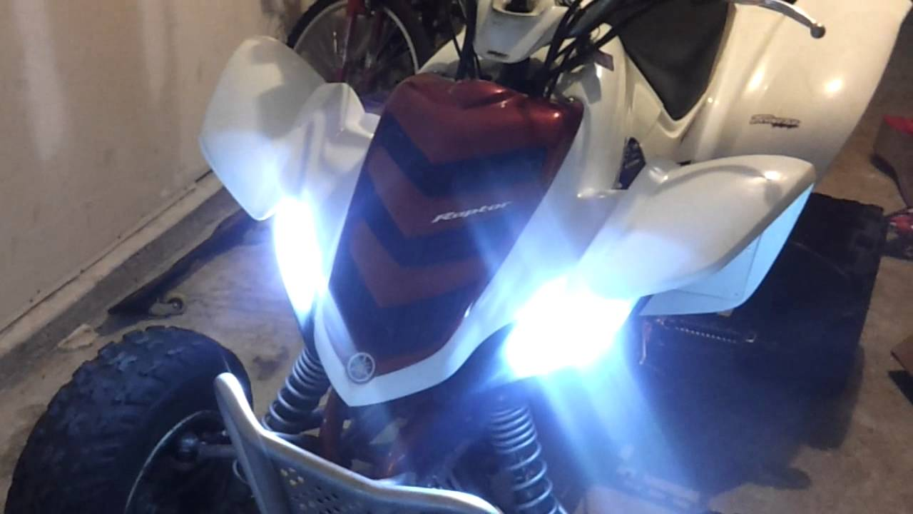 Raptor 660 Hid kit YouTube