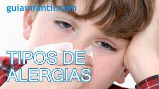 Tipos de alergias y el asma de los niños