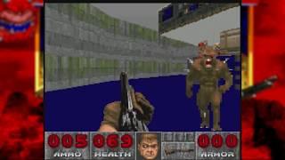 Doom 2 SNES - Map01 Entryway (Rom Hack)
