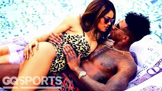 Iman Shumpert and Teyana Taylor Can't Keep Their Hands Off Each Other | GQ Sports