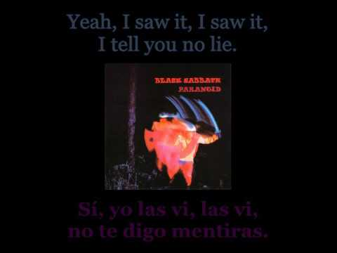 Black Sabbath - Fairies Wear Boots - 08 - Lyrics / Subtitulos en español (James Nwobhm) Traducida