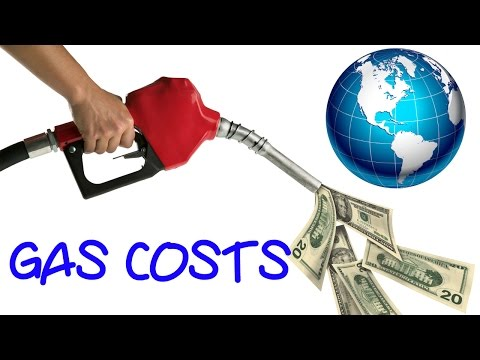 Cost of Gas Around the World - INSANE PRICES!