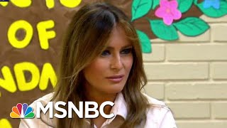 melania trumps jacket sends mixed border messages the last word msnbc