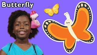 Butterfly + More | Mother Goose Club Playhouse Songs & Rhymes