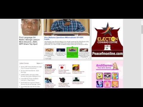 Ghana News Latest News in Ghana  UTV Ghana  Peace FM  Ghana