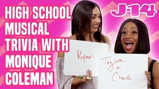 DCOM High School Musical Trivia With Monique Coleman